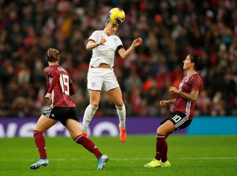 England women's player of the year Bronze to leave Lyon