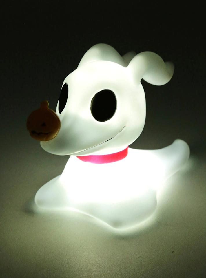 """<p><a href=""""http://www.boxlunch.com/product/the-nightmare-before-christmas-zero-mood-lamp/11441943.html"""" target=""""_blank"""" class=""""ga-track"""" data-ga-category=""""Related"""" data-ga-label=""""http://www.boxlunch.com/product/the-nightmare-before-christmas-zero-mood-lamp/11441943.html"""" data-ga-action=""""In-Line Links""""><strong>The Nightmare Before Christmas</strong> Zero Mood Light</a> ($23)</p>"""