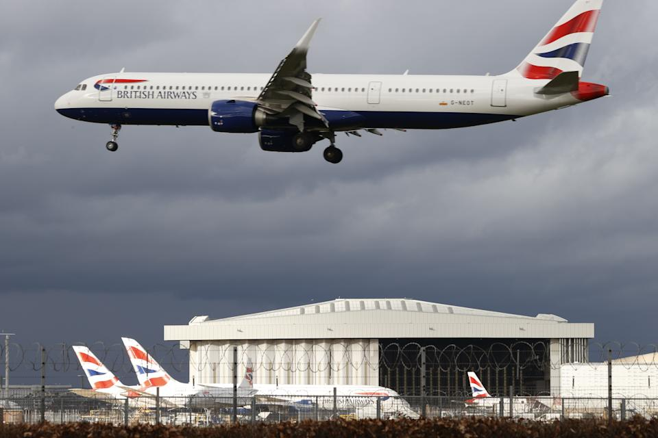 BA owner IAG said that no dividends will be paid before the end of 2023. Photo: Adrian Dennis/AFP via Getty Images