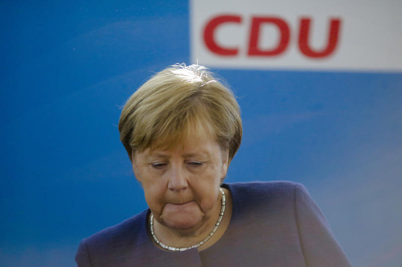 Merkel vows to restore Germans' confidence in government