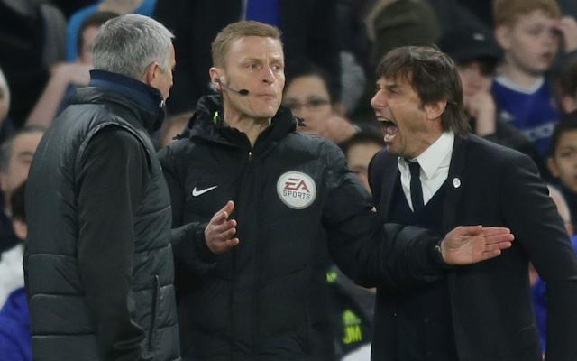 <span>Mourinho and Antonio Conte have to be separated</span>