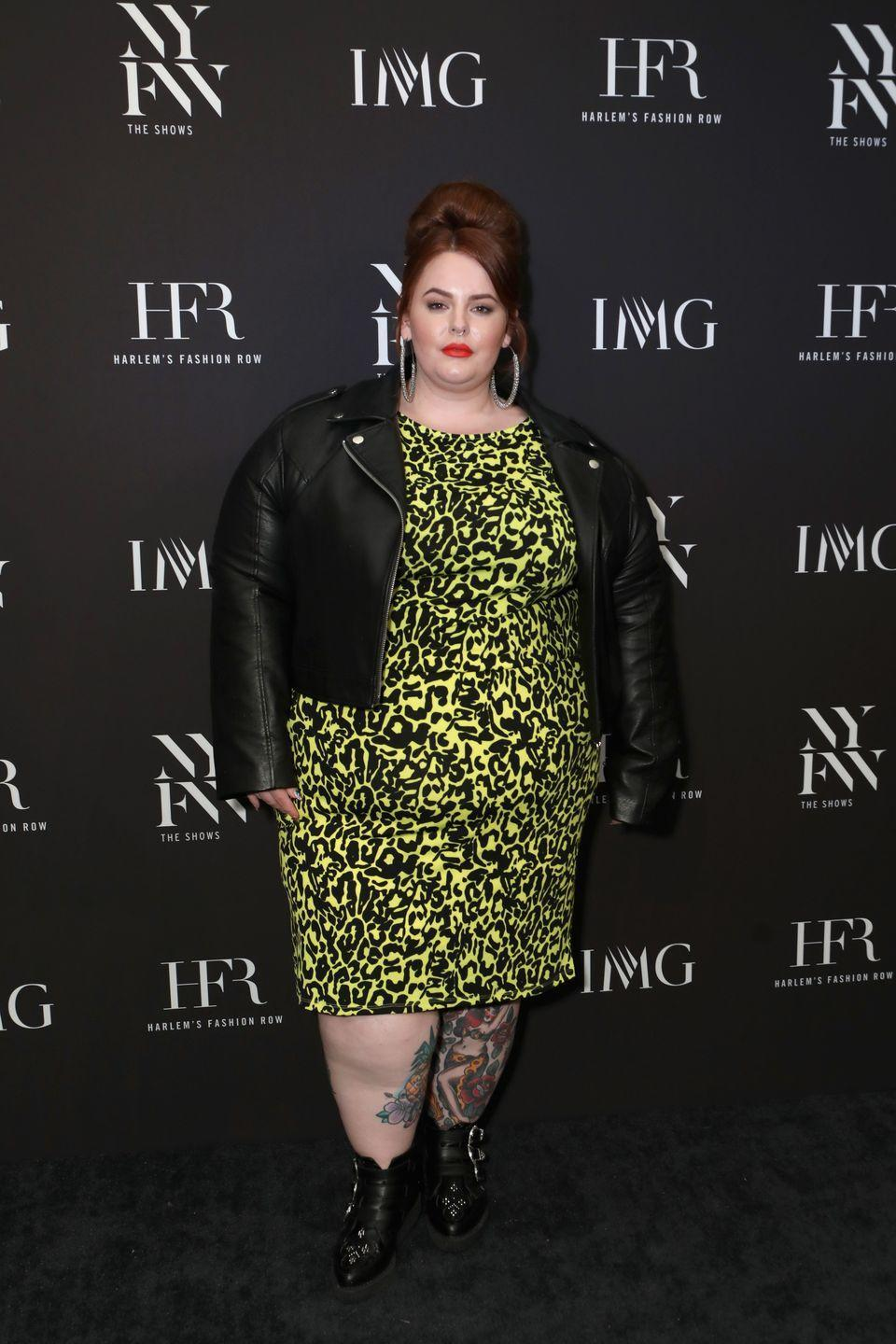 <p>If you don't already have a leopard dress in your closet, do you even exist? Pair your go-to mini with buckled boots and a timeless leather jacket.</p>