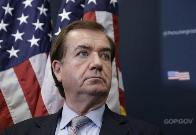 Rep. Ed Royce, R-Calif., at a news conference on Capitol Hill, Sept. 21, 2016. (Photo: Manuel Balce Ceneta/AP)
