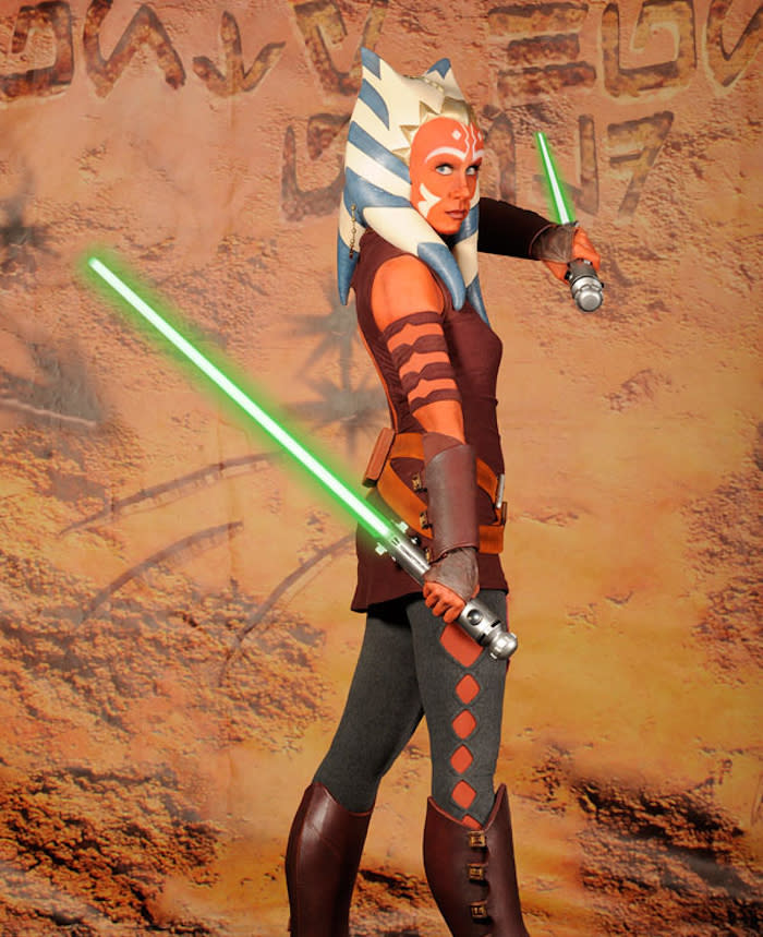 Ahsoka Tano Star Wars The Clone Wars Rebels Ashley Eckstein