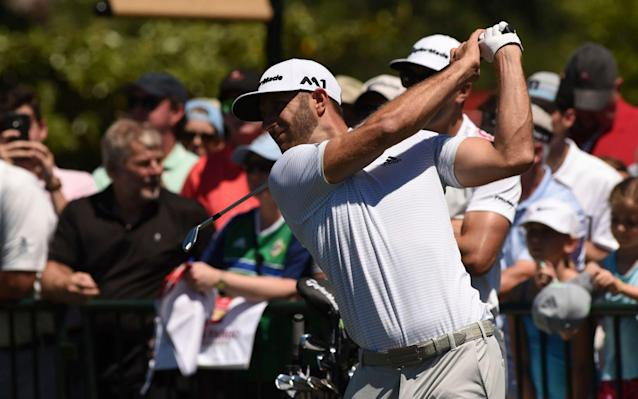 Dustin Johnson was getting back into the swing of thingsat Eagle Point Golf Course on Wednesday - The Star-News