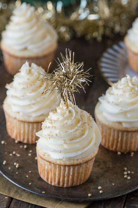 """<p>Enjoy a subtle hint of champagne in the cupcakes and the frosting.</p><p><strong><a href=""""http://thefirstyearblog.com/easy-champagne-cupcakes/"""" rel=""""nofollow noopener"""" target=""""_blank"""" data-ylk=""""slk:Get the recipe at The First Year."""" class=""""link rapid-noclick-resp"""">Get the recipe at The First Year.</a></strong></p>"""