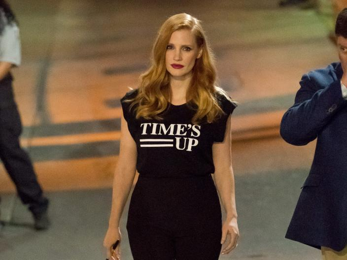 Jessica Chastain times up