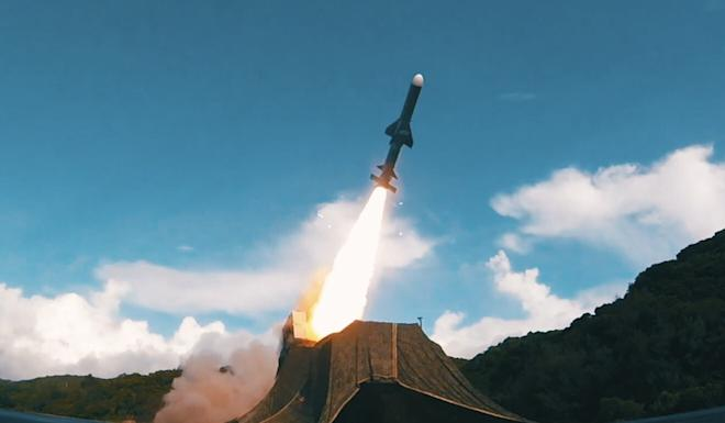 The footage showed troops firing anti-aircraft, anti-tank and anti-ship missiles. Photo: Handout