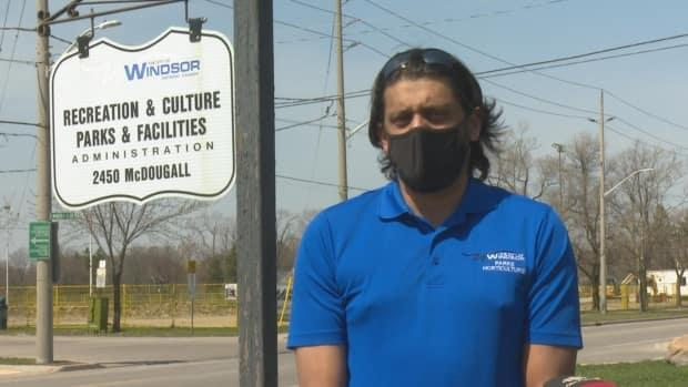 James Chacko, the senior manager of parks for the City of Windsor, says the bike trails build by the community posed a health and safety concern and liability risk.