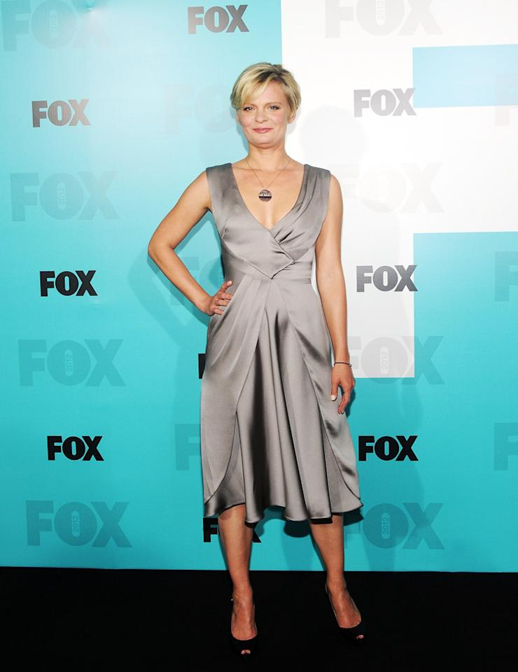 """Martha Plimpton (""""Raising Hope"""") attends the Fox 2012 Upfronts Post-Show Party on May 14, 2012 in New York City."""