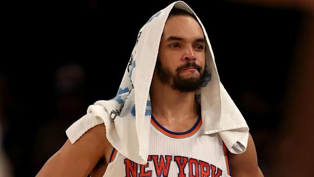 Former All-Star center Joakim Noah is expecting a layoff after suffering an injury similar to the one that limited him to 29 games last year