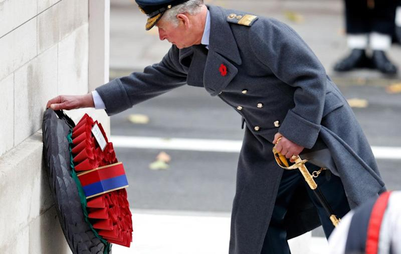 Prince Charles laid the wreath this year. Source: Getty