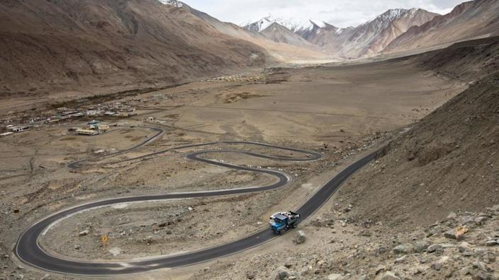 Ladakh is a high altitude cold desert with temperatures touching -20 degrees in winter