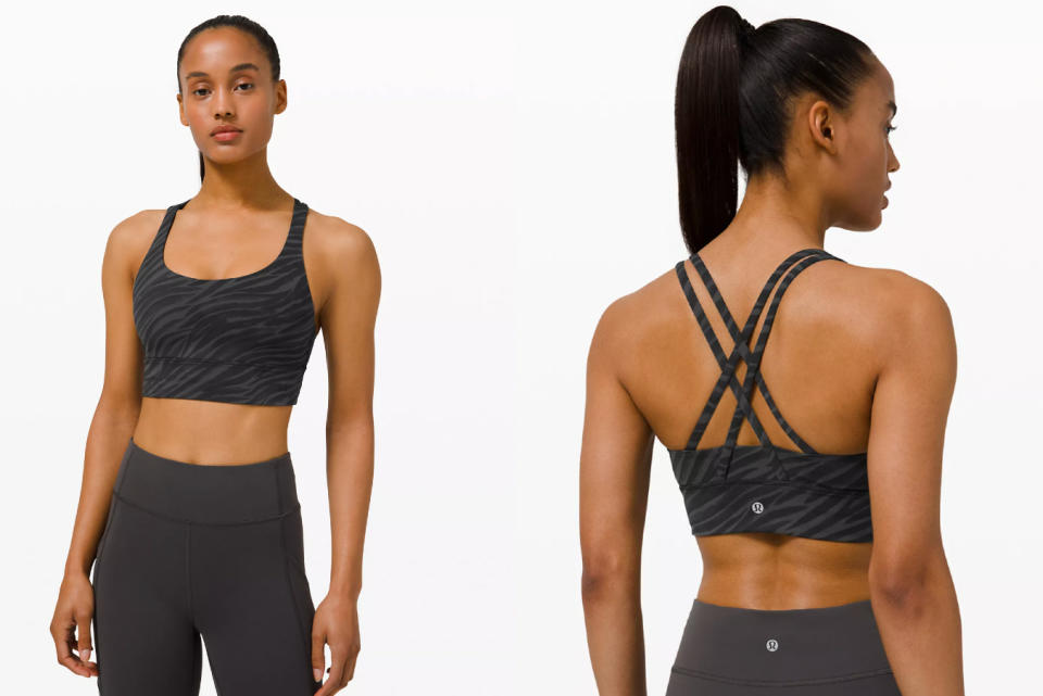 The Energy Bra Longline is one of the most recent addition to the brand's We Made Too Much page.