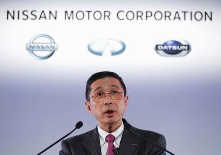 Nissan cuts profit outlook on inspection scandal after for Nissan motor finance corporation