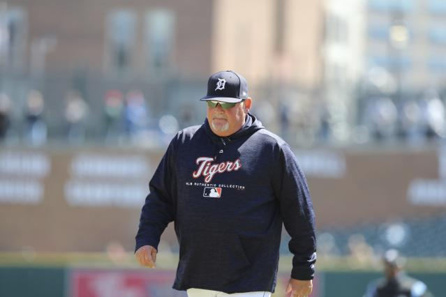 Chris Bosio has been fired by Detroit for insensitive comments. (AP Photo/Carlos Osorio)