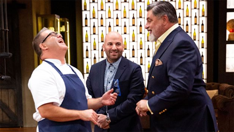 MasterChef judges Gary Mehigan, George Calombaris and Matt Preston could strike a deal with Netflix. Photo: Channel Ten