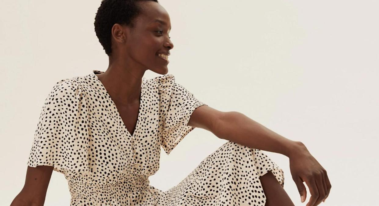 We predict M&S' new polka dot dress will sell out fast.  (Marks and Spencer)