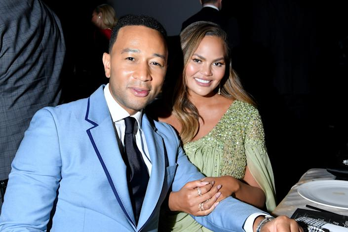 John Legend and Chrissy Teigen attend the 2019 Baby2Baby Gala presented by Paul Mitchell on November 09, 2019 in Los Angeles, California. (Photo: Amy Sussman/Getty Images for Baby2Baby)