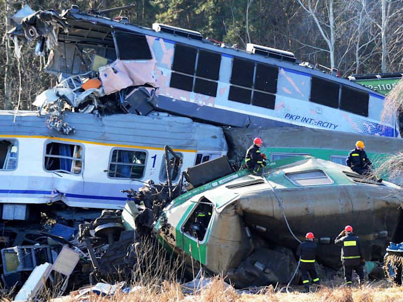 Polish train crash puts spotlight on rail safety