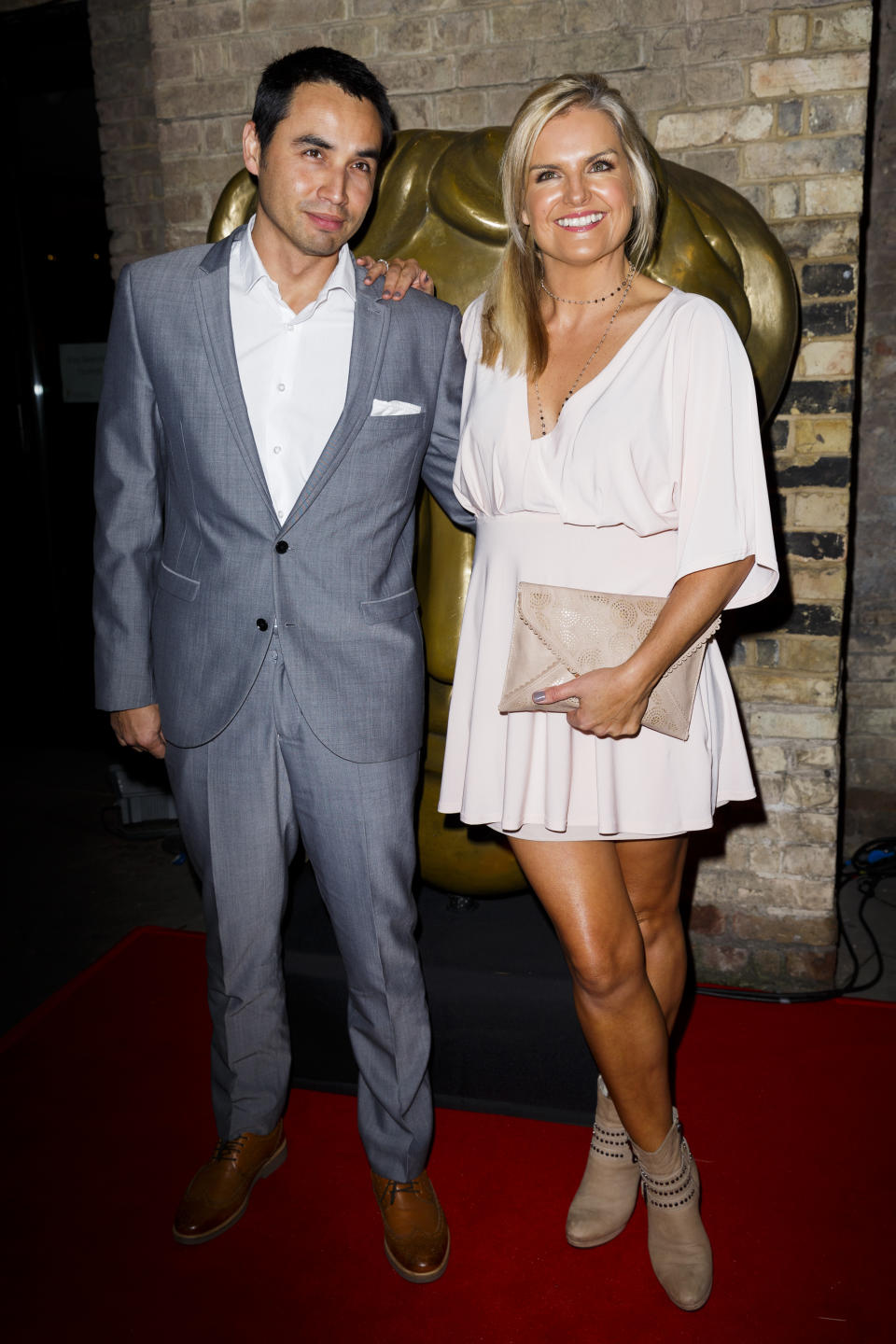 Katy Hill, who is married to Trey Farley, recently celebrated her 50th birthday. (Photo by Tristan Fewings/Getty Images)