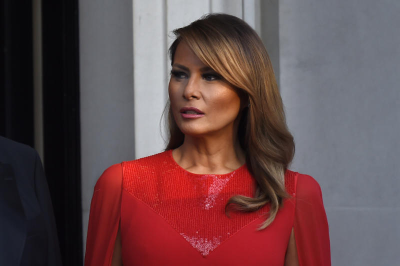 Some argue the First Lady avoids official events using a trusted SS agent. Photo: Getty Images