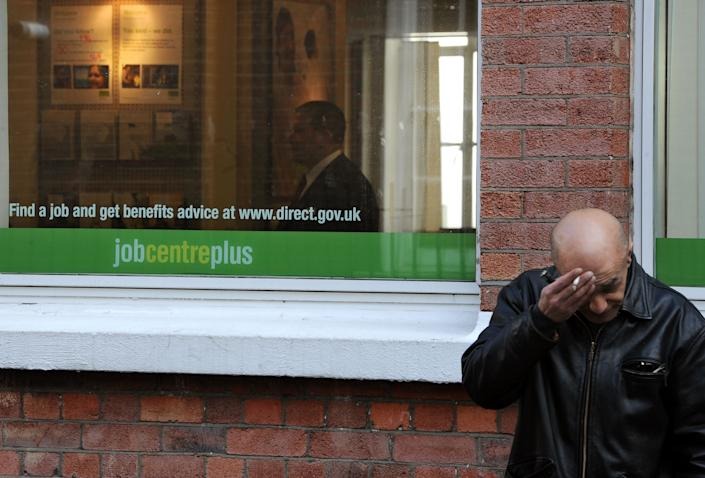 General view of a Job Centre Plus in Westminster, London as the number of people claiming jobseeker's allowance has fallen to a near two-year low after a huge increase in employment, new figures showed today.   (Photo by Anthony Devlin/PA Images via Getty Images)
