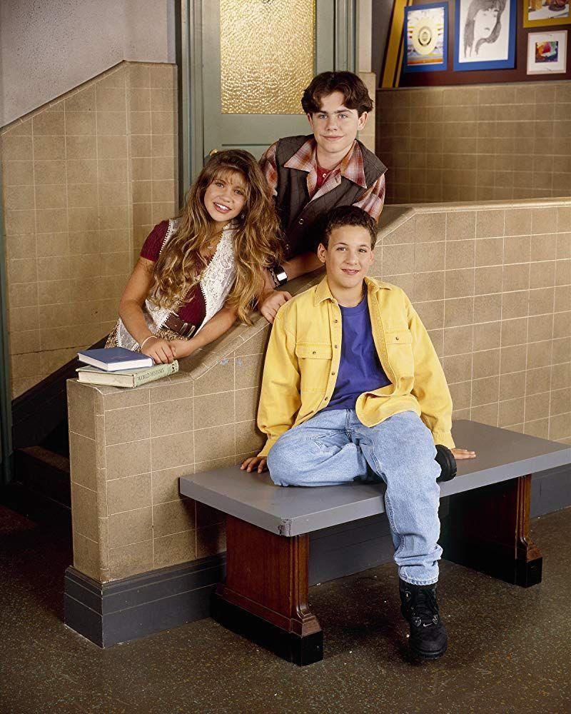 """<p>Between Shawn's middle-part hair flop, Cory's love for unbuttoned button-downs, and Topanga's insane bangs, no show defines '90s TV more than <em>Boy Meets World</em>. Hands up if Mr. Feeny is still your imaginary mentor.</p><p><a class=""""link rapid-noclick-resp"""" href=""""https://www.amazon.com/Pilot-Boy-Meets-World/dp/B0081LMCJM/ref=sr_1_1?crid=2V2ZOCO55O1US&keywords=boy+meets+world&qid=1562092069&s=instant-video&sprefix=boy+meets+wor%2Cinstant-video%2C128&sr=1-1&tag=syn-yahoo-20&ascsubtag=%5Bartid%7C10063.g.34770662%5Bsrc%7Cyahoo-us"""" rel=""""nofollow noopener"""" target=""""_blank"""" data-ylk=""""slk:Watch Now"""">Watch Now</a></p>"""