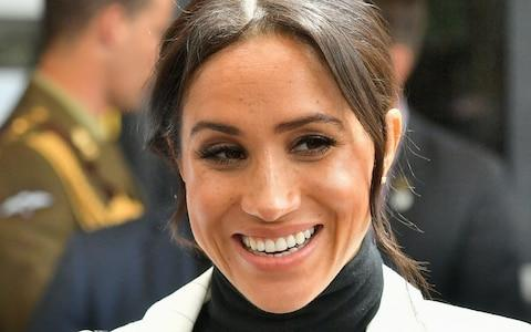 Meghan, Duchess of Sussex showed no ill effects when she rejoined her husband - Credit: Samir Hussein/WireImage