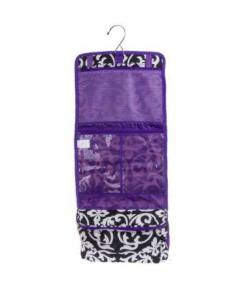 "Get it <a href=""https://jet.com/product/BlackWhite-Damask-Print-Hanging-Travel-Cosmetic-Case-Bag-withDark-Purple-Trim-NE/fae5ab9218a9461ab3400a7450ea94bc"" target=""_blank"">here</a>."