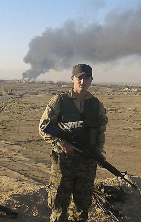 Dyball had fought alongside Kurdish forces battling Islamic State in Syria. Photo: AAP