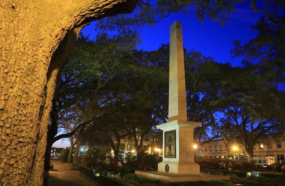 """<p>Savannah has more haunted spots than almost any other city in the country, and over the course of 90 minutes, this tour will show you all the best haunts, from Johnson Square and Colonial Park Cemetery to the Savannah Historic District.</p><p><a class=""""link rapid-noclick-resp"""" href=""""https://go.redirectingat.com?id=74968X1596630&url=https%3A%2F%2Fwww.tripadvisor.com%2FAttractionProductReview-g60814-d13328491-Savannah_s_Ghost_City_Dead_of_Night_Walking_Night_Tour-Savannah_Georgia.html&sref=https%3A%2F%2Fwww.redbookmag.com%2Flife%2Fg37623207%2Fghost-tours-near-me%2F"""" rel=""""nofollow noopener"""" target=""""_blank"""" data-ylk=""""slk:LEARN MORE"""">LEARN MORE</a></p>"""