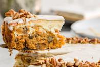 """<p>When the sun finally comes out, we celebrate with cake. And cupcakes. Cake in any form is great, ya know? From lemon-flavored everything to Easter classics like carrot cake and banana pudding, these easy desserts will keep your stomach happy all season. For more spring-inspired recipes, check out our favorite <a href=""""http://www.delish.com/cooking/g3303/spring-weeknight-dinners/"""" rel=""""nofollow noopener"""" target=""""_blank"""" data-ylk=""""slk:spring dinners"""" class=""""link rapid-noclick-resp"""">spring dinners</a>.</p>"""