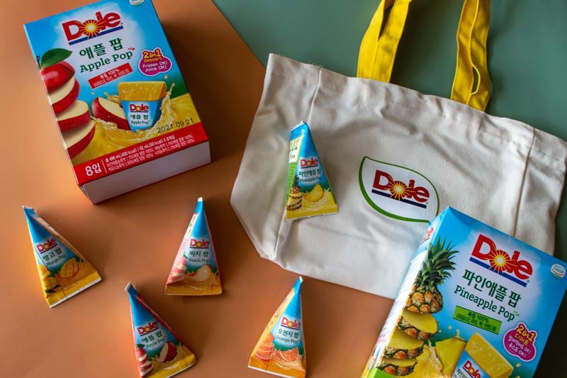 Assorted Dole Fruit Pops