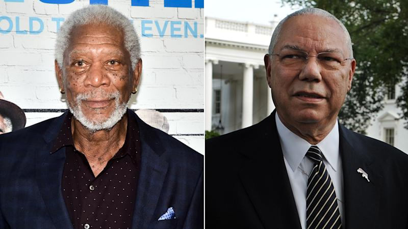 Morgan Freeman to star in Colin Powell biopic