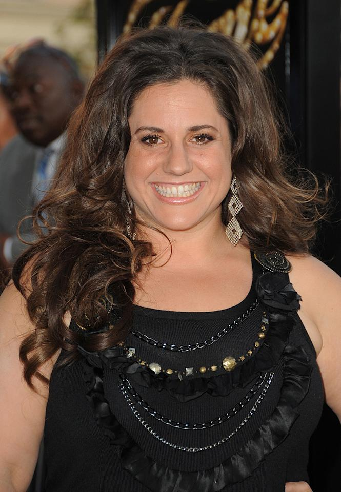 "<a href=""http://movies.yahoo.com/movie/contributor/1804503131"">Marissa Jaret Winokur</a> at the Los Angeles premiere of <a href=""http://movies.yahoo.com/movie/1810033914/info"">Fame</a> - 09/23/2009"