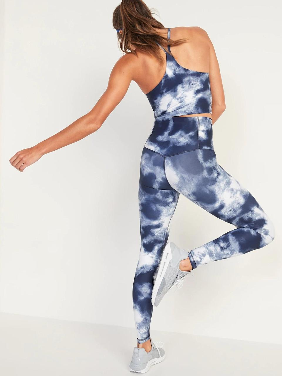 <p>These tie-dye <span>High-Waisted Hidden-Pocket Leggings for Women</span> ($20-$40, originally $40) might have to be my next purchase. </p>