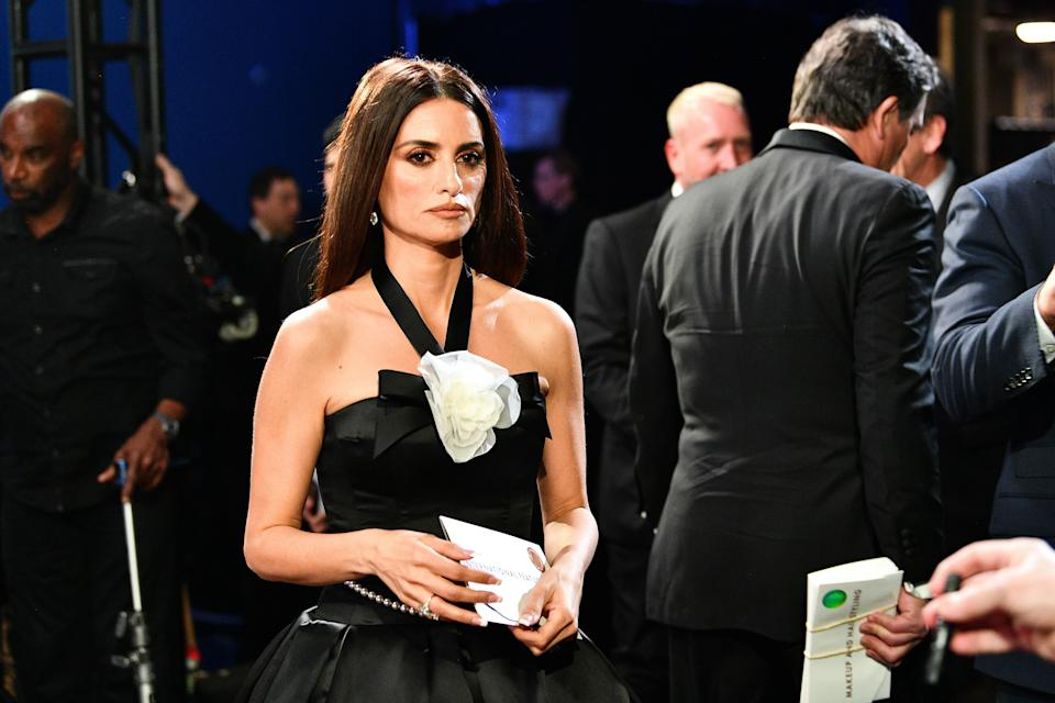 Penélope Cruz durante la 92ª gala de los Oscar el 9 de febrero de 2020. (Photo: Handout via Getty Images)