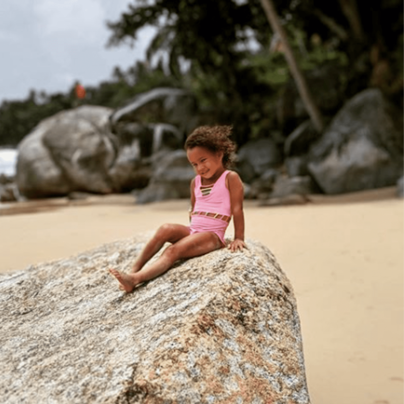 Sports Illustrated Bound?! Luna Stephens's Sweet Beach Pic Proves Modeling Runs in the Family