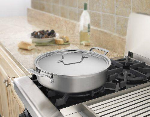 """<p><strong>Cuisinart</strong></p><p>amazon.com</p><p><strong>$79.99</strong></p><p><a href=""""https://www.amazon.com/dp/B009W28RPC?tag=syn-yahoo-20&ascsubtag=%5Bartid%7C1782.g.34415852%5Bsrc%7Cyahoo-us"""" rel=""""nofollow noopener"""" target=""""_blank"""" data-ylk=""""slk:BUY NOW"""" class=""""link rapid-noclick-resp"""">BUY NOW</a></p><p>With triple-ply stainless construction and a lifetime warranty, this dependable can handle years of constant use.</p>"""