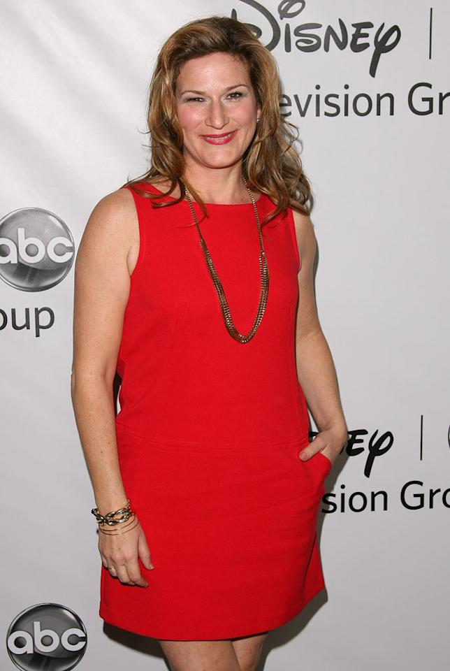 """<a href=""""/ana-gasteyer/contributor/37977"""">Ana Gasteyer</a> (""""<a href=""""/suburgatory/show/47407"""">Suburgatory</a>"""") attends the 2012 ABC Winter TCA All-Star Party at the Langham Huntington Hotel on January 10, 2012 in Pasadena, California."""