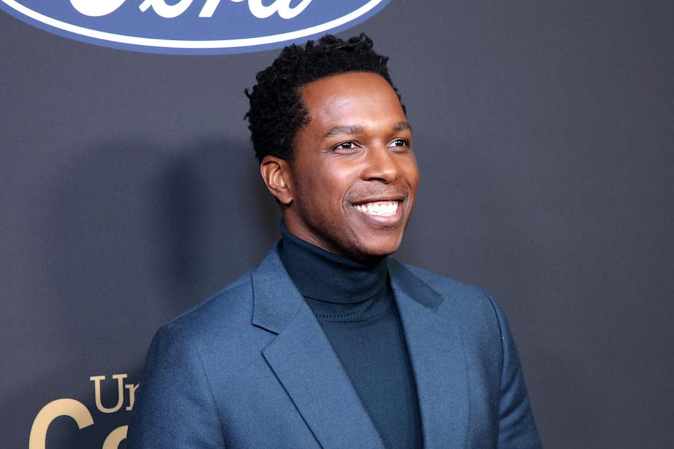 PASADENA, CALIFORNIA - FEBRUARY 22: Leslie Odom Jr. attends the 51st NAACP Image Awards, Presented by BET, at Pasadena Civic Auditorium on February 22, 2020 in Pasadena, California. (Photo by Robin L Marshall/Getty Images for BET)