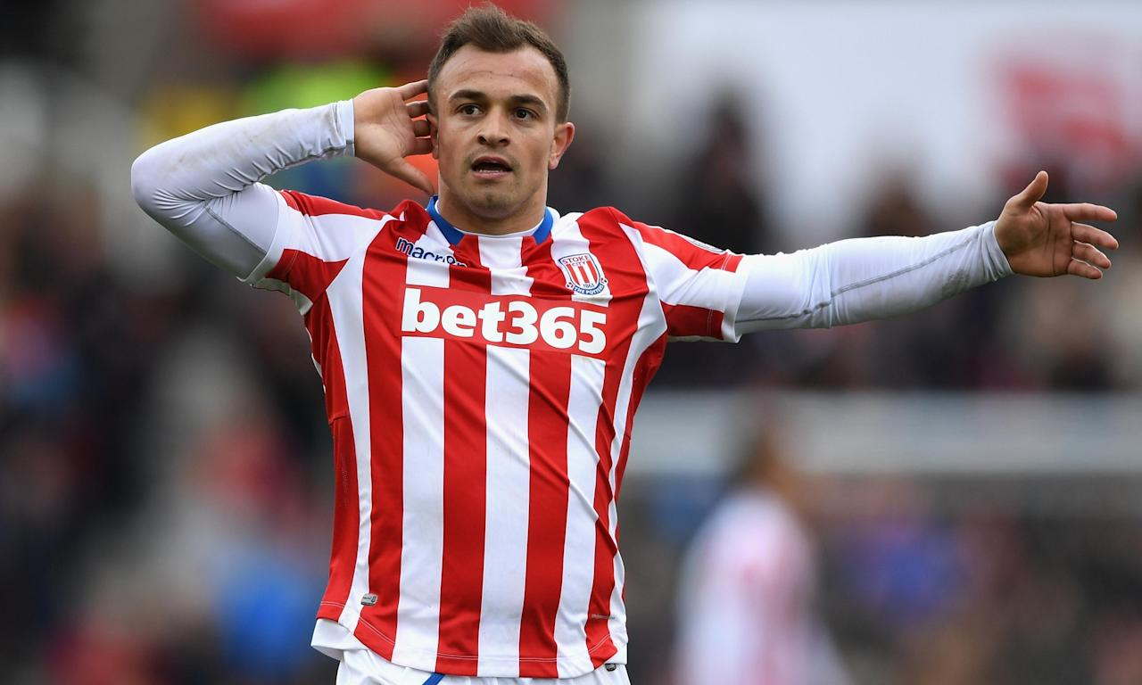 Stoke City's Xherdan Shaqiri stuns Hull City with touch of brilliance