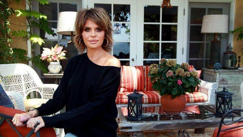 "Actress and ""Real Housewives of Beverly Hills"" cast member Lisa Rinna at home."