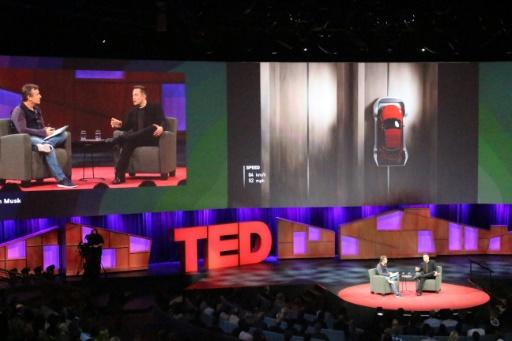 Elon Musk teases future plans at TED talk