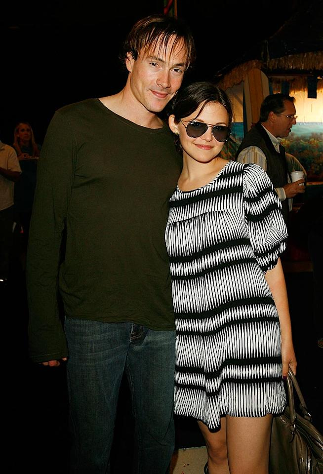 """We love Ginnifer Goodwin (""""Big Love""""), but don't you kinda wish that Katie Holmes were still standing alongside her former beau, Chris Klein, as opposed to Tom Cruise? Donato Sardella/<a href=""""http://www.wireimage.com"""" target=""""new"""">WireImage.com</a> - November 4, 2007"""