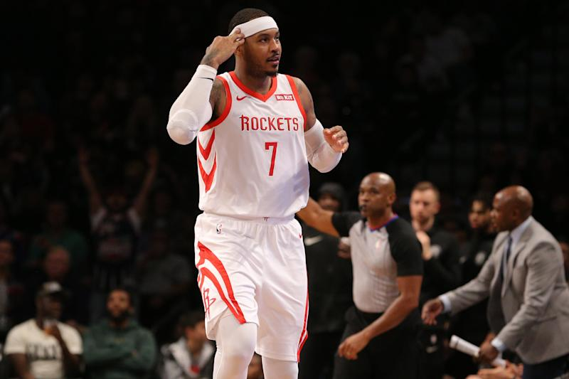 Ex-Knicks Star Carmelo Anthony Returns To NBA W/ New Team Signing