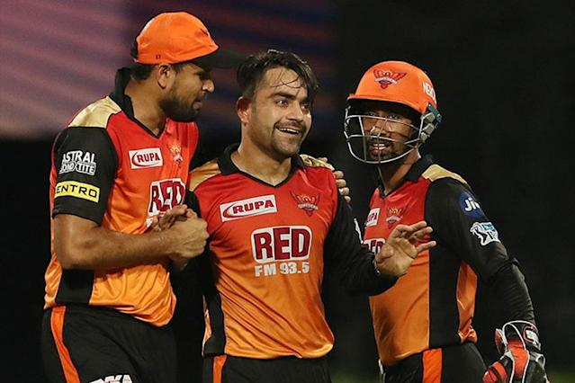 Sunrisers Hyderabad are banking on Afghan sensation Rashid Khan to fire one more time against the Chennai Super Kings in Sunday's Indian Premier League final.