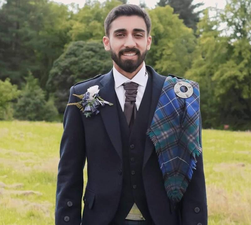 Usman, 25, a medical student in Glasgow (Photo: )