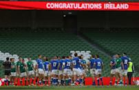 Italy may have been hammered 50-17 by Ireland but coach Franco Smith believes the several youngsters he blooded will come on for the experience